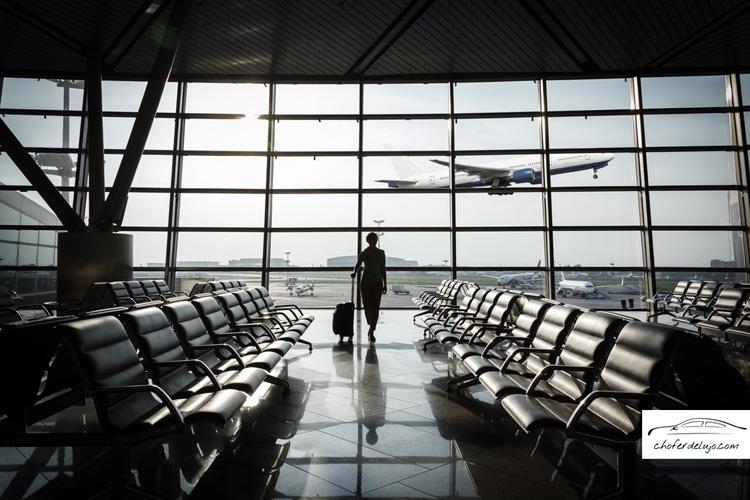 Transfer aeropuerto Madrid Barajas chofer de lujo