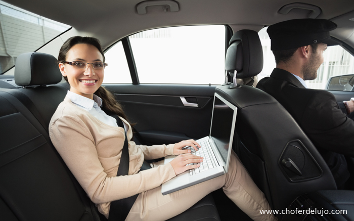Private driver chauffeur car services in Madrid