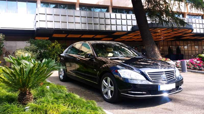 coche con chofer para ejecutivos