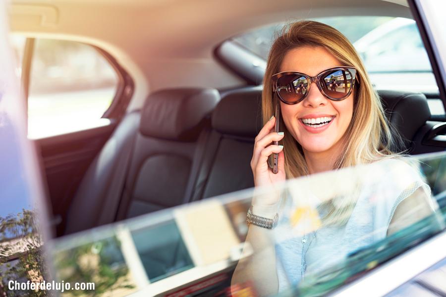 Alquiler de coche con chófer por horas